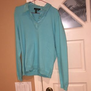 New Tiffany blue Lauren Ralph Lauren blouse